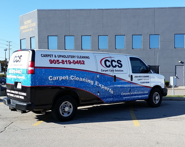 At CCS we send out two technicians